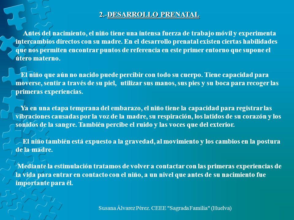 Susana Álvarez Pérez.CEEE Sagrada Familia (Huelva) ESTIMULACIÓN ÁREA VESTIBULAR.