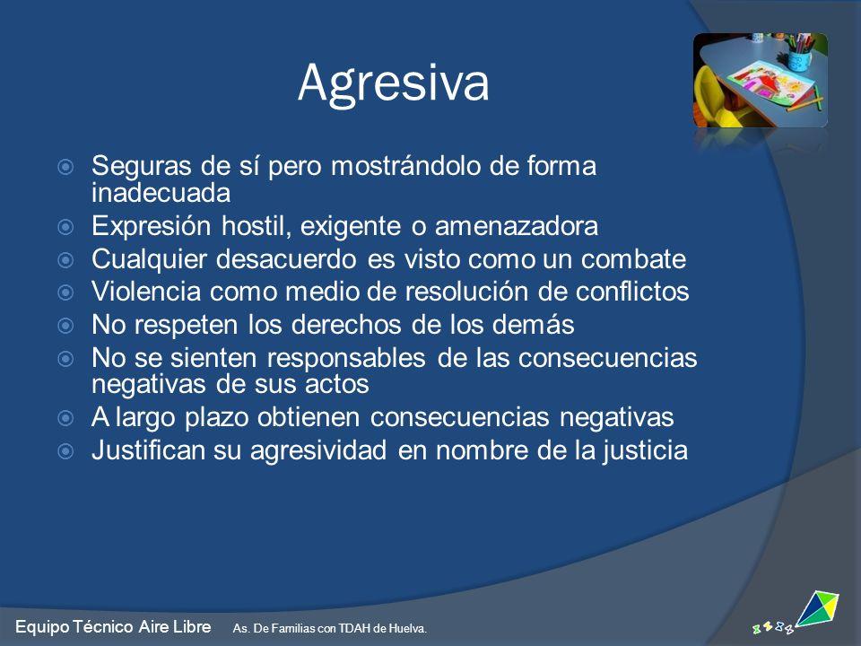 Equipo Técnico Aire Libre As.De Familias con TDAH de Huelva.