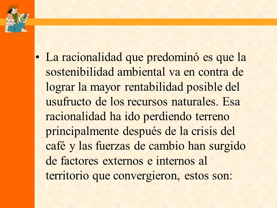 Las Coaliciones Los productores individuales en Cooperativas, las Cooperativas en Uniones y Centrales.