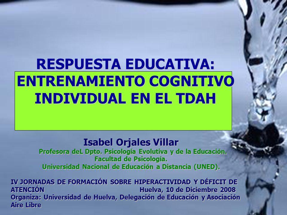 Isabel Orjales Villar Profesora deL Dpto. Psicología Evolutiva y de la Educación. Profesora deL Dpto. Psicología Evolutiva y de la Educación. Facultad