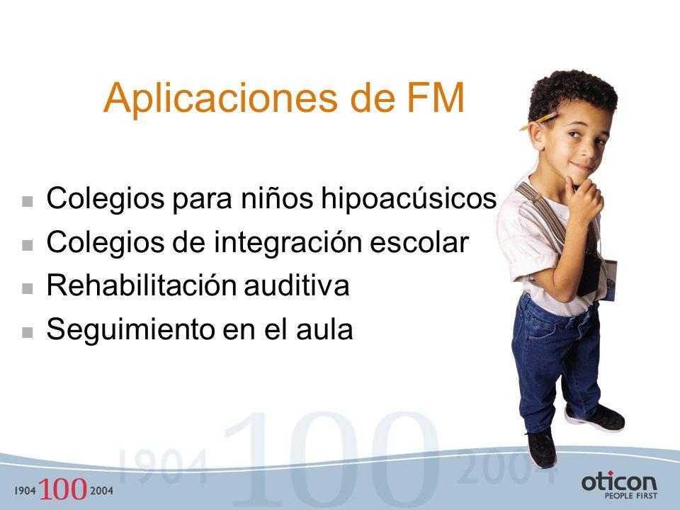 El Concepto de Sistemas FM La voz de profesor es transmitida directamente al oído del alumno. Supera los efectos negativos del ruido, distancia y reve