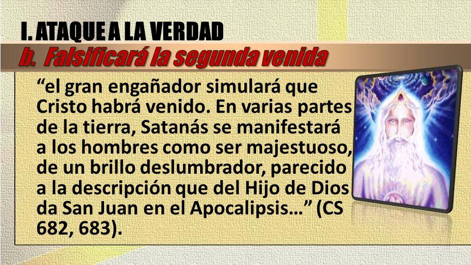 II.LA VERDAD VENCERÁ Según 2Ts 2:7 ¿Quién detiene la obra del anticristo y cuándo lo destruirá.