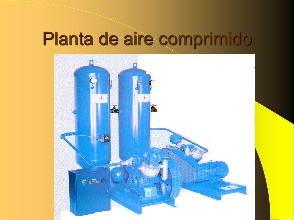 Planta de aire comprimido