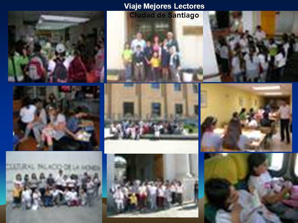 Viaje Mejores Lectores Ciudad de Santiago