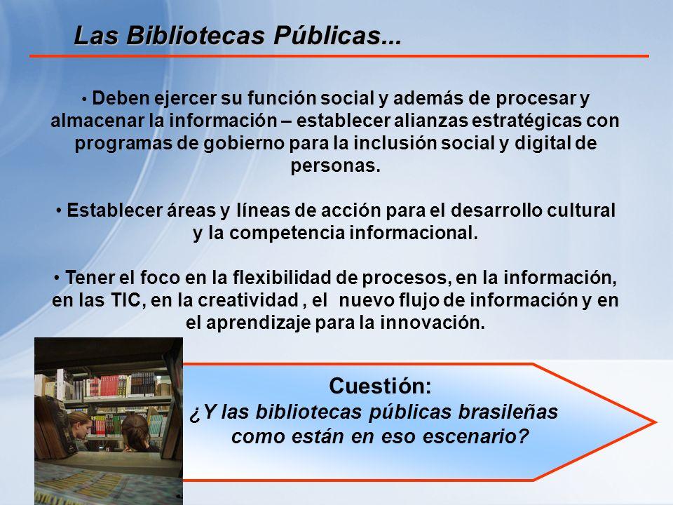 Las Bibliotecas Públicas...