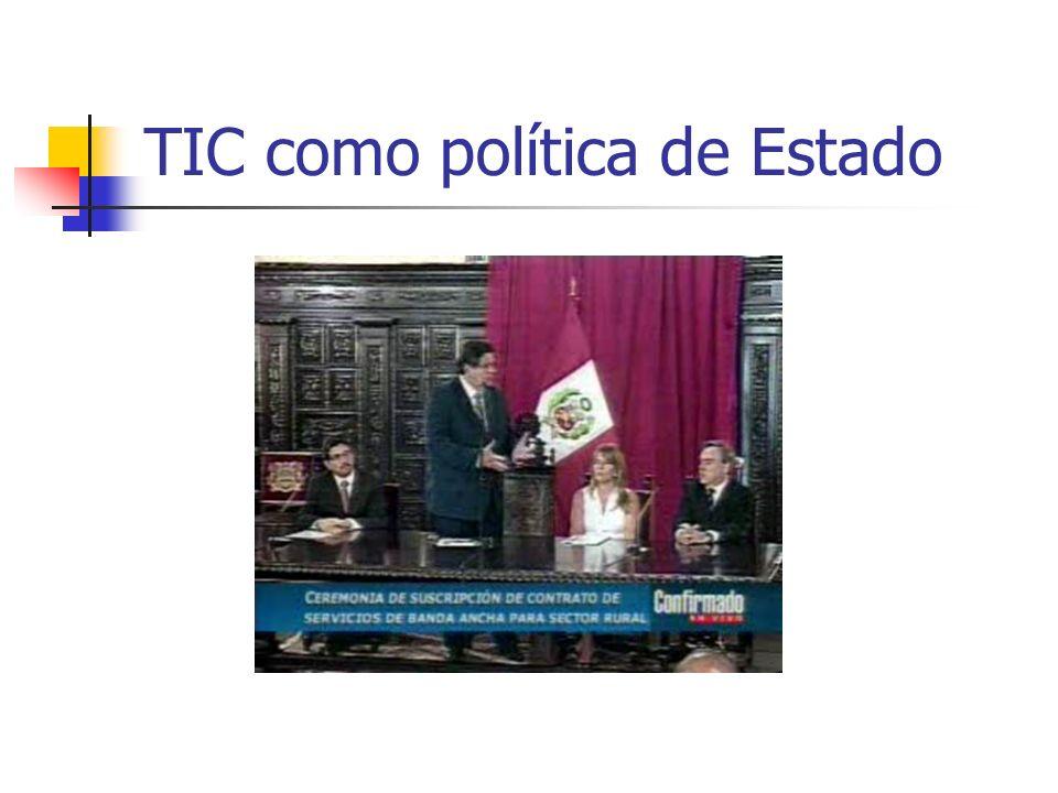 TIC como política de Estado