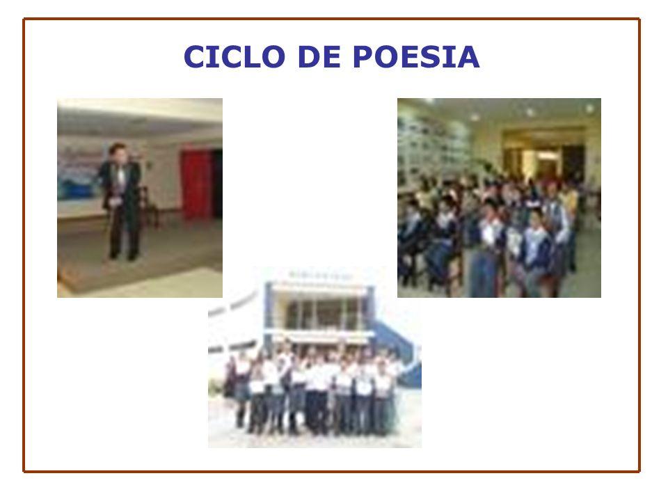 CICLO DE POESIA