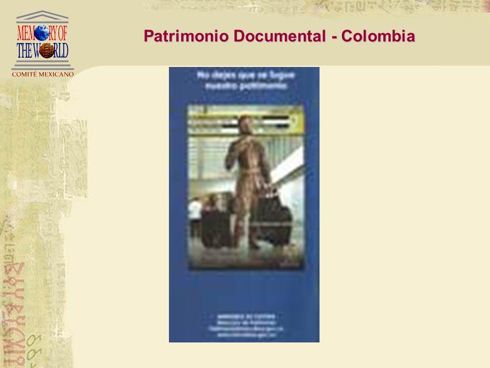 América Latina ha sido despojada de su patrimonio documental Patrimonio Documental en América Latina