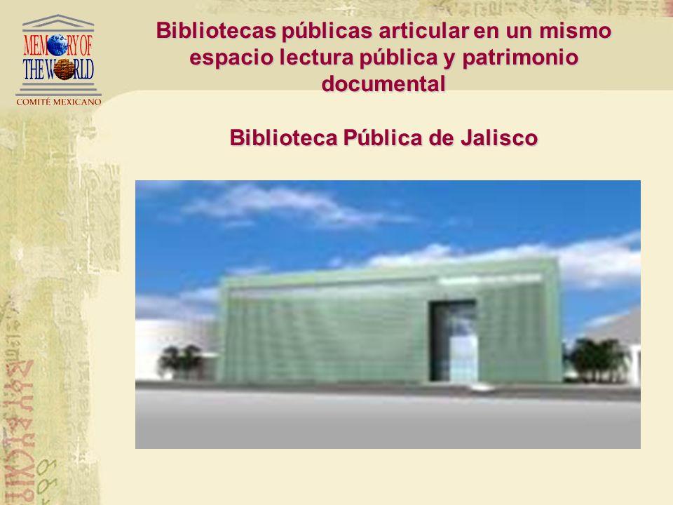 Bibliotecas Públicas en la Memoria del Mundo2007 México Colección de Lenguas Indígenas Biblioteca Pública Universidad de Guadalajara