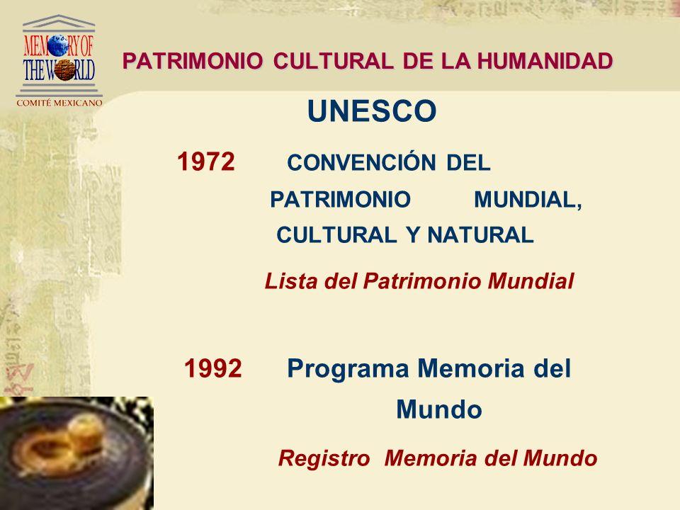 Ante la destrucción del patrimonio Nueva visión sobre el valor del patrimonio cultural como fundamento de identidad y diversidad PATRIMONIO CULTURAL D
