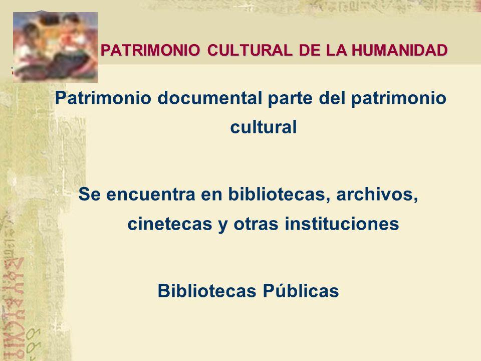 UNESCO 1972 CONVENCIÓN DEL PATRIMONIO MUNDIAL, CULTURAL Y NATURAL Lista del Patrimonio Mundial 1992 Programa Memoria del Mundo Registro Memoria del Mu
