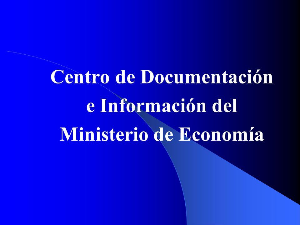 Centro de Documentación e Información del Ministerio de Economía