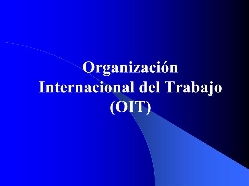 Organización Internacional del Trabajo (OIT)