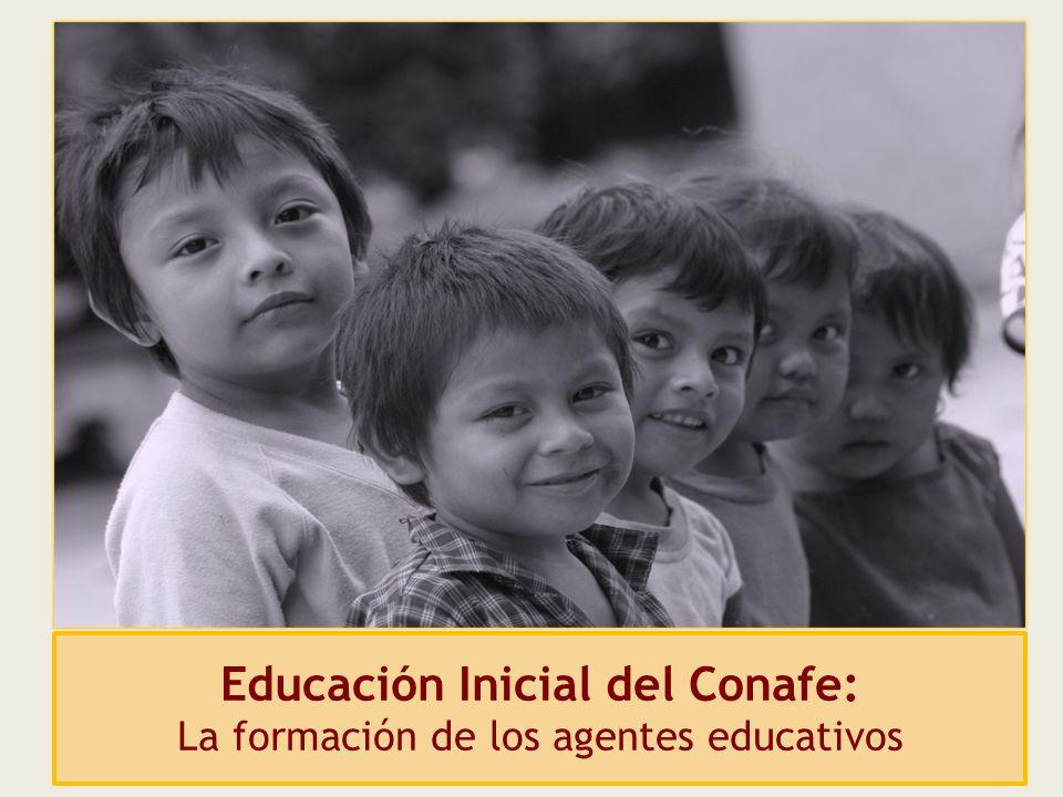 Educación Inicial del Conafe: La formación de los agentes educativos