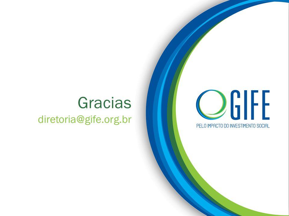 Gracias diretoria@gife.org.br