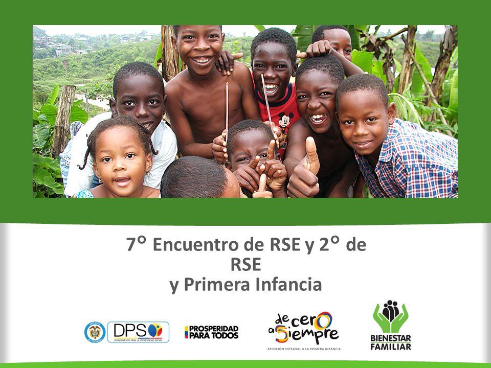 Primera Infancia (0 - 5 años) Niñez y Adolescencia (6 - 17 años) COLOMBIA 46 millones de Personas 5.141.455 (11,0%) Niños y Niñas 10.434.276 (22,6%) Niños, Niñas y Adolescentes 2.028.476 (40,4%) 7.129.267 (68,3%) 1.681.922 (16,1%) 354.814 (6,9%) 1.143.181 (11,0%) 281.618 (5,5%) SISBEN III Pobreza Extrema Desplazados Por rangos de edad Población colombiana