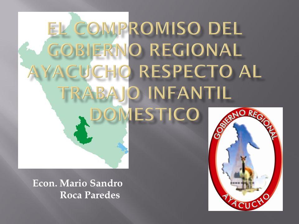 Econ. Mario Sandro Roca Paredes