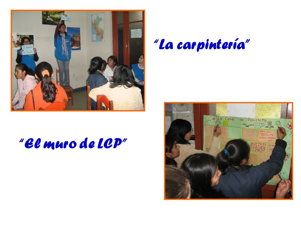 La carpintería El muro de LCP