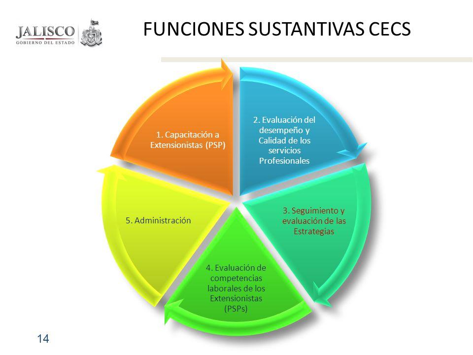 FUNCIONES SUSTANTIVAS CECS 14