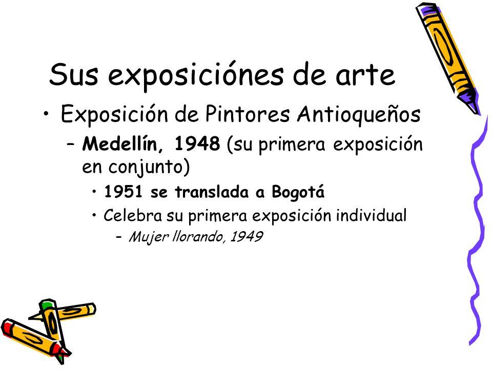 España, 1952 Sigue estudios en la Academia de San Fernando (Madrid) Al mismo tiempo asiste al Museo del Prado (Madrid) –Estudia y copia la obra de Velázquez y Goya
