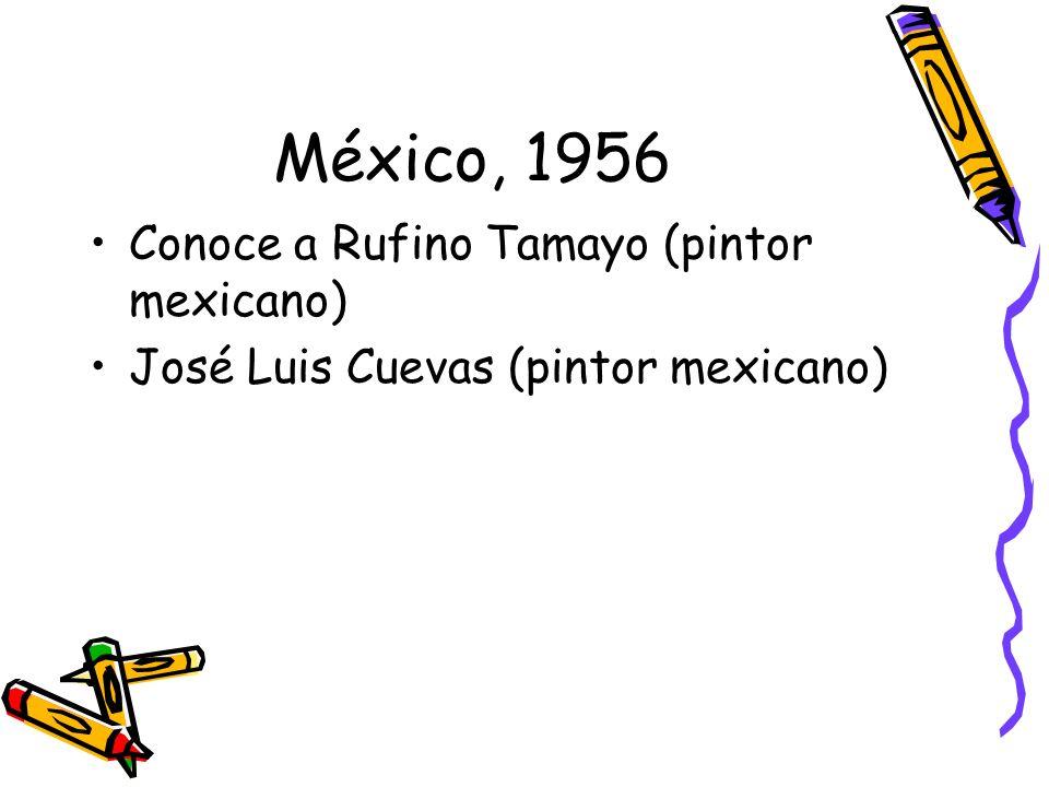 Estados Unidos, 1957 Celebra su primera exposición individual –Unión Pan-Americana de Washington