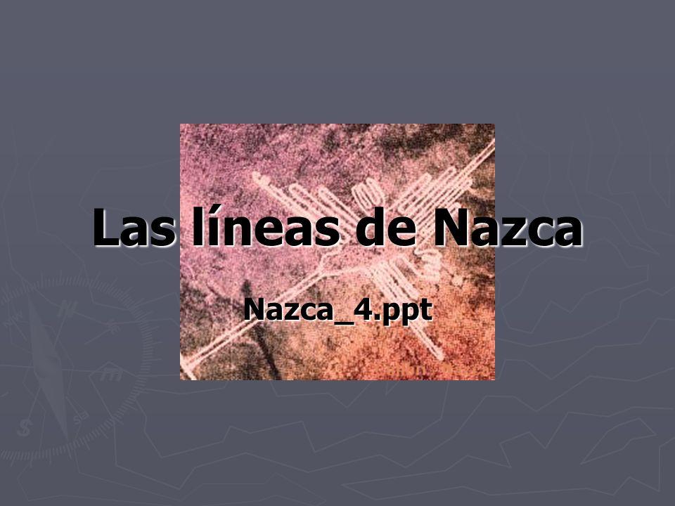 ¿Dondé.Las líneas de Nazca están en la pampa de Nazca en Perú donde es árido y rocoso.