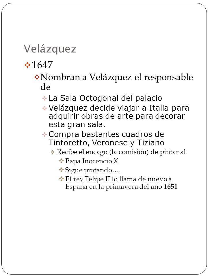 La pintura de Velázquez Cuando no estaba pintando la familia real en estilo barroco Velázquez pintaba en estilo antibarroco.