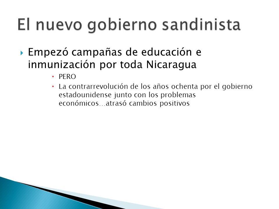 Frente Sandinista de Liberación Nacional 1979 Acaba con la dictadura de la familia Somoza