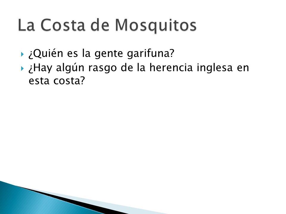 ¿Cuál es la ciudad principal de la Costa de los Mosquitos.