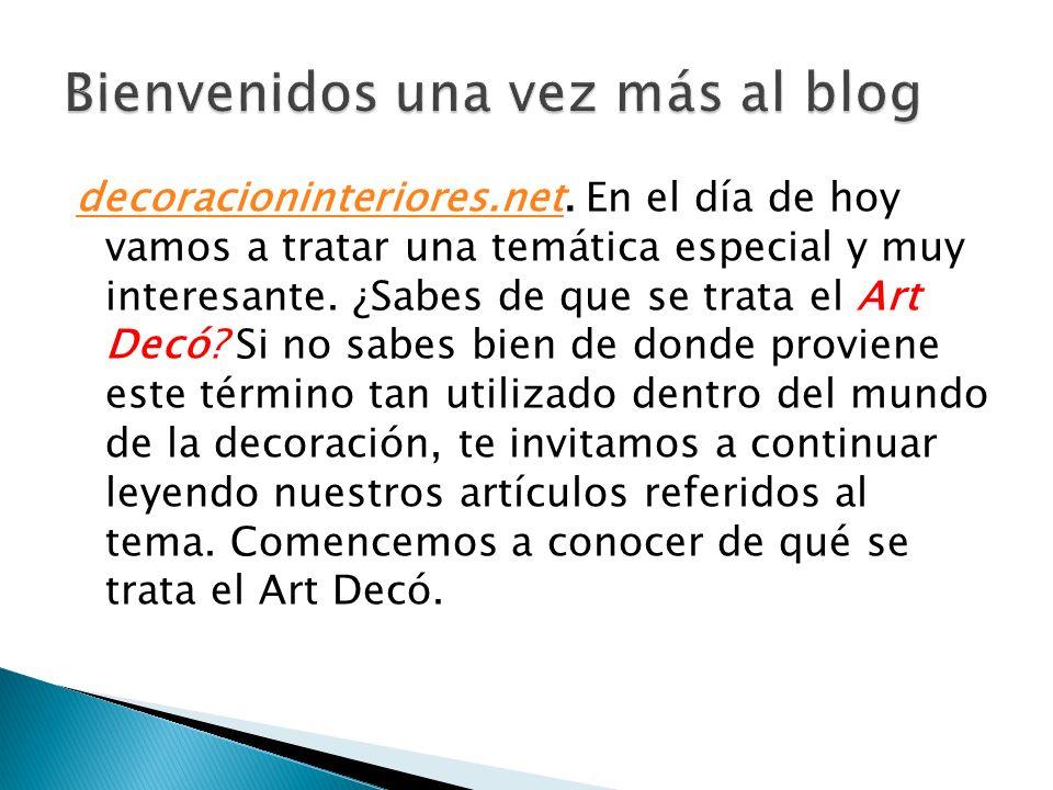 decoracioninteriores.netdecoracioninteriores.net. En el día de hoy vamos a tratar una temática especial y muy interesante. ¿Sabes de que se trata el A
