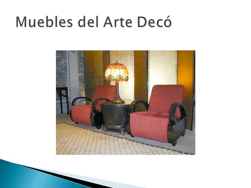 Un movimiento de diseño popular a partir de 1920 hasta 1939 (cuya influencia se extiende hasta la década de 1950 en algunos países.década de 1950