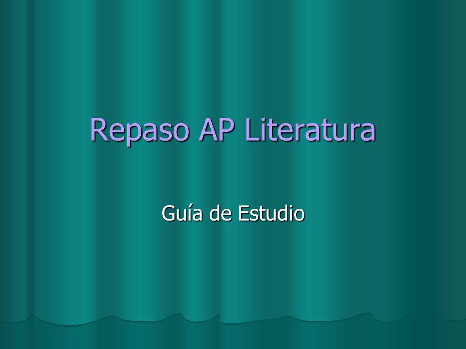 Repaso AP Literatura Guía de Estudio