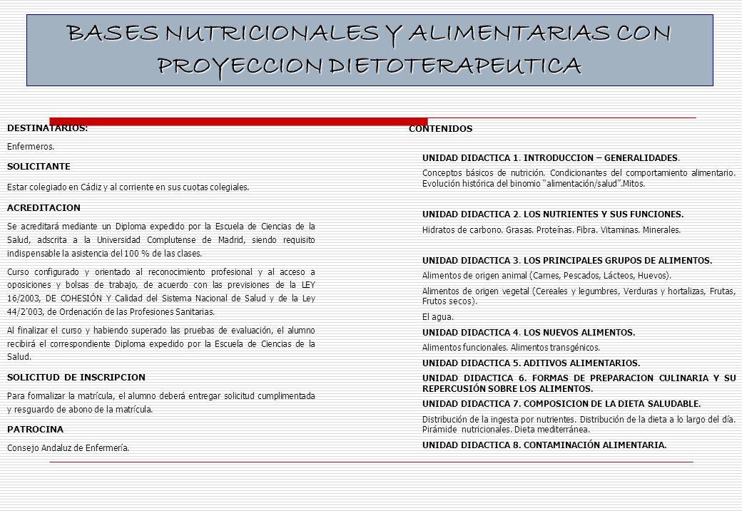 CONTENIDOS UNIDAD DIDACTICA 1.INTRODUCCION – GENERALIDADES.