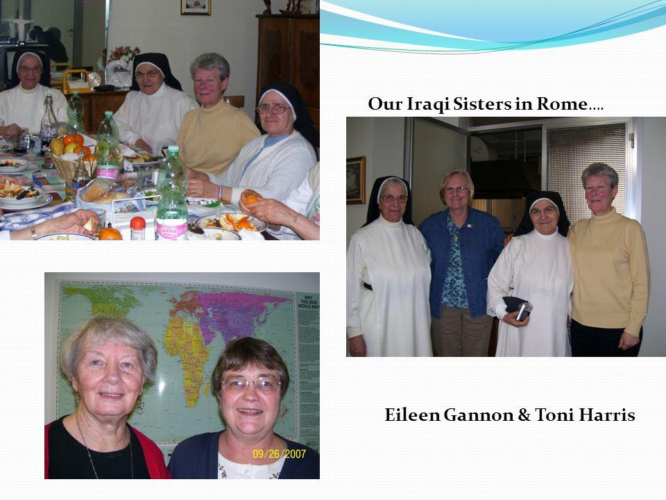 Our Iraqi Sisters in Rome …. Eileen Gannon & Toni Harris