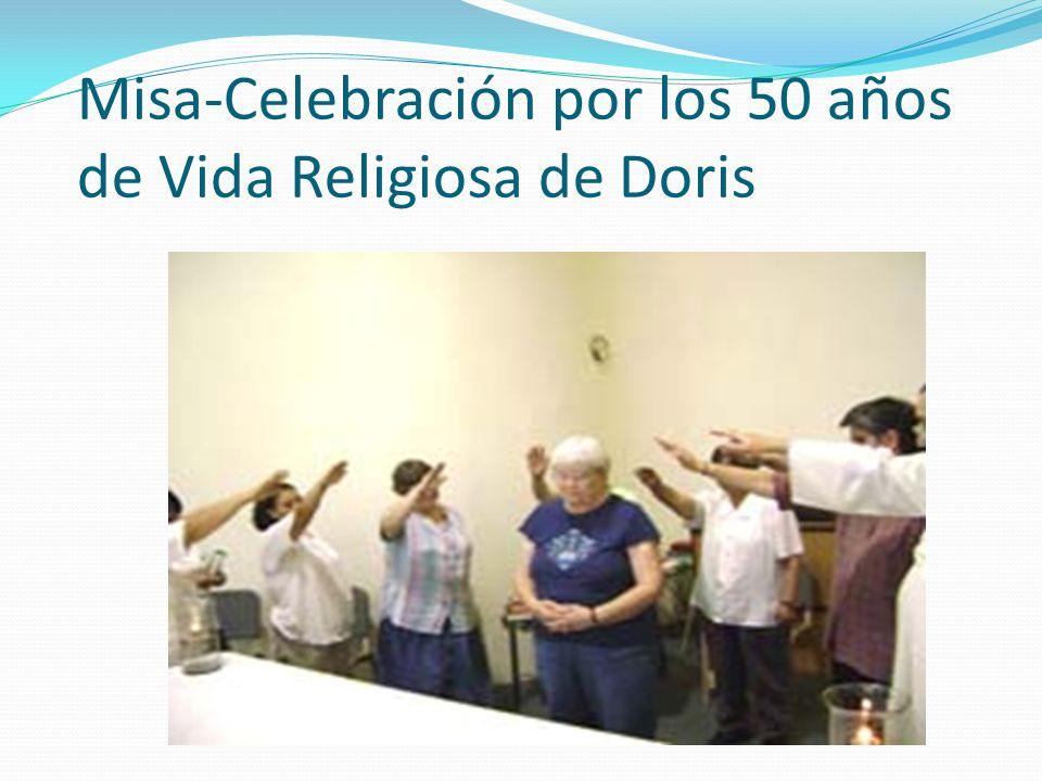 Misa-Celebración por los 50 años de Vida Religiosa de Doris
