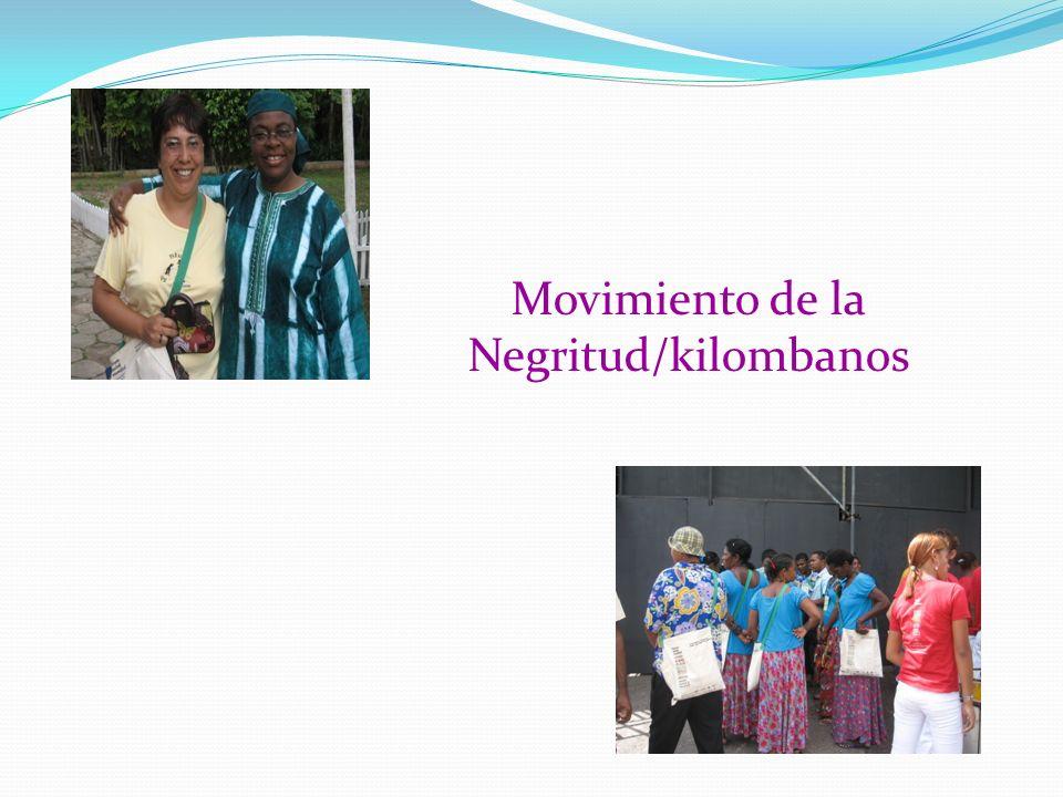 Movimiento de la Negritud/kilombanos