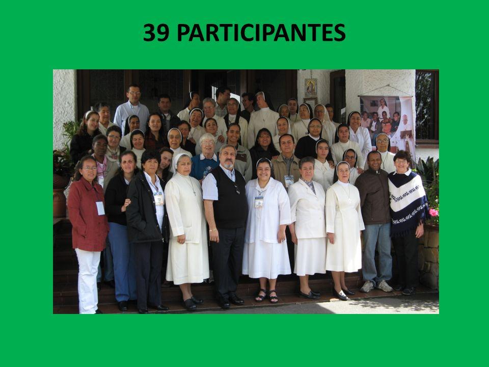 39 PARTICIPANTES