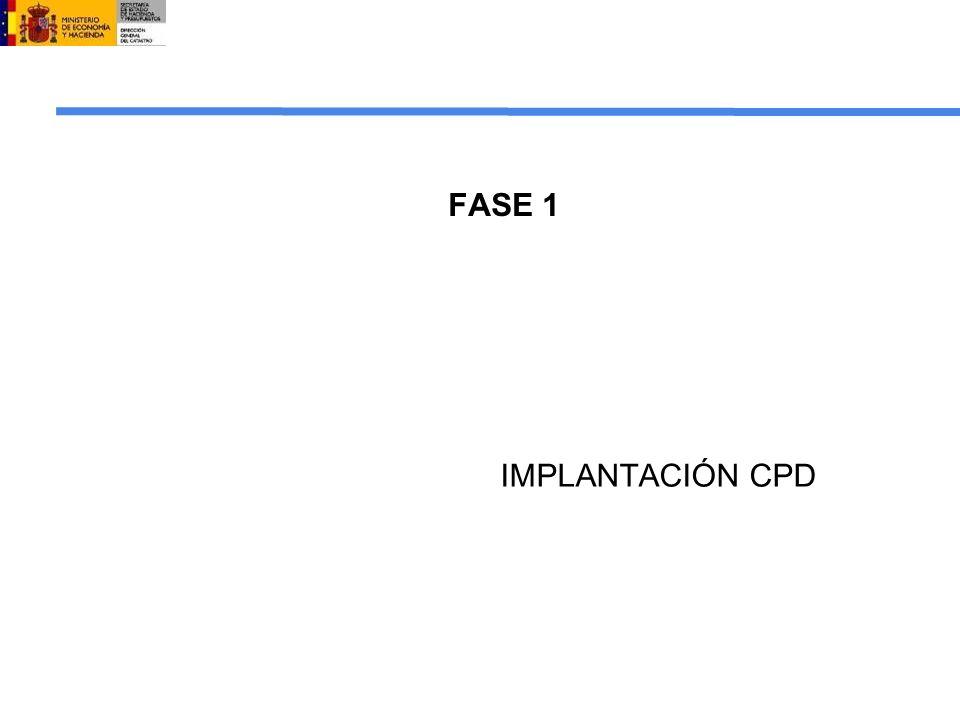 FASE 1 IMPLANTACIÓN CPD