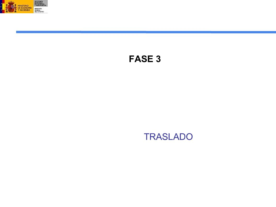 FASE 3 TRASLADO