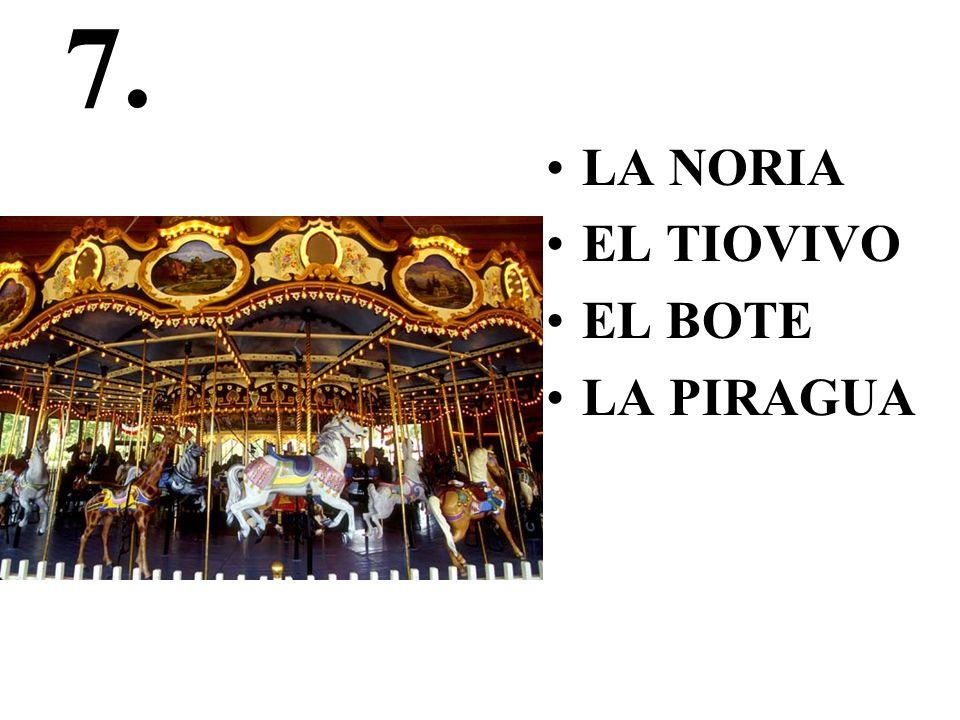 8. LA FICHA EL AJEDREZ LAS DAMAS EL HELADO