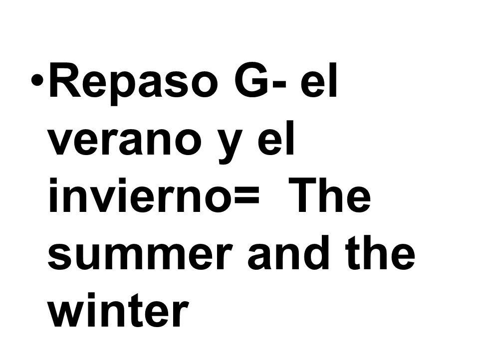 Hace buen (mal) tiempo. = The weather is good (bad).