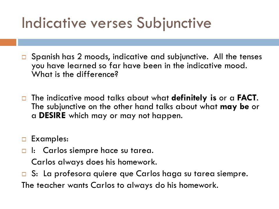 Examples: I: Carlos siempre hace su tarea.Carlos always does his homework.