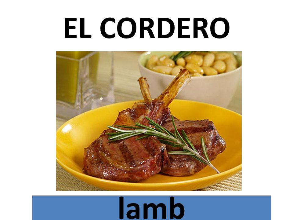 EL CORDERO lamb