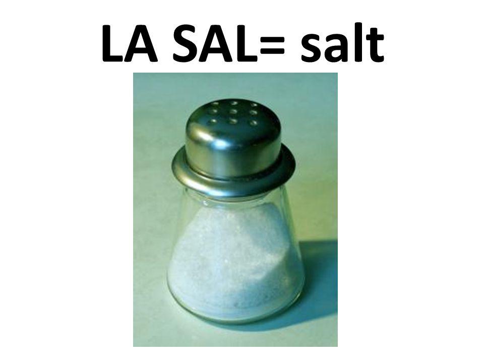 LA SAL= salt