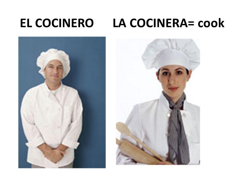 EL MENÚ= menu