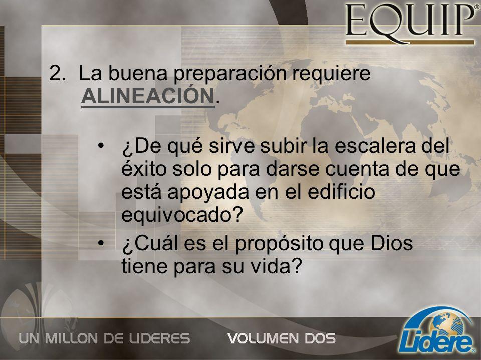 3.La preparación necesita de una ACTITUD correcta.