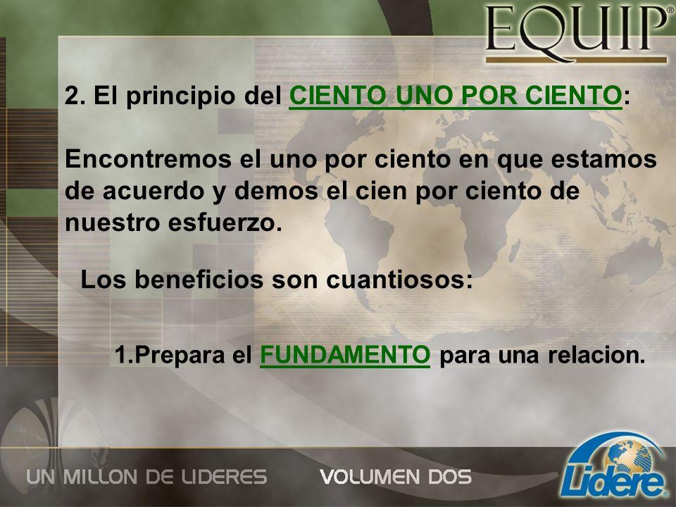 2.Evita CONFLICTOS innecesarios. 3. Reduce la probabilidad de crear ENEMISTADES.
