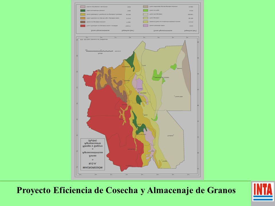 El Proyecto Eficiencia de Cosecha y Almacenaje de Granos en el : Centro Regional Tucumán – Santiago del Estero del I.N.T.A.