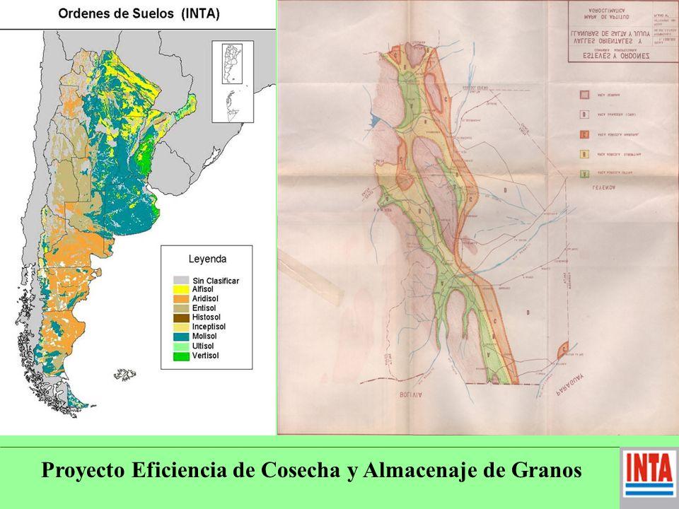 Proyecto Eficiencia de Cosecha y Almacenaje de Granos Almacenaje.- Escasez de Silos fijos, especialmente (Acopios- o en chacra).