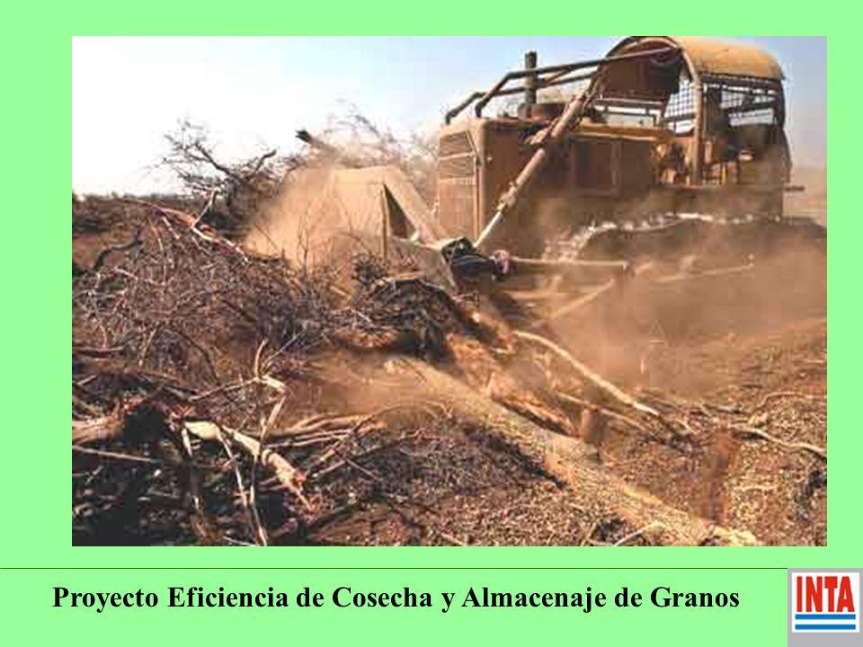 Proyecto Eficiencia de Cosecha y Almacenaje de Granos B - DEMANDAS Todo lo referente a Calidad de los granos, para orientar producción y lograrla.